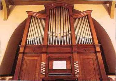 Orgel der Gedächtnickirche Bad Homburg